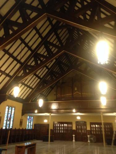 The interior of an older church Braendel had the pleasure of restoring.