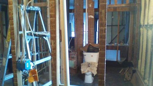 A look inside an interior remodeling project by Braendel.