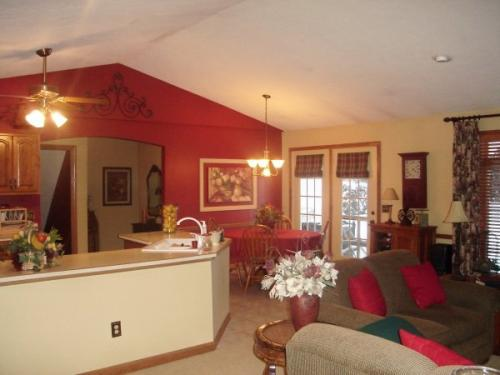 The final product of an interior paint job for Braendel customers in Erie, PA.