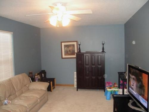 New paint in this family room helps make it the favorite room in the house!