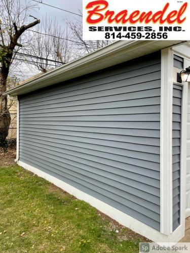Installing new siding is a sure way to clean up your home or business. Braendel does it right so it looks good for years to come.