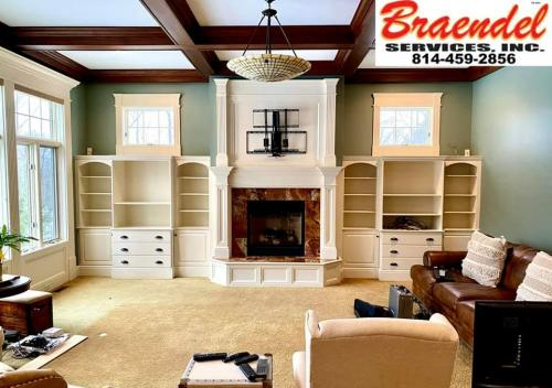We do a lot more than just paint. Call Braendel today to discuss all the interior renovation services we provide.