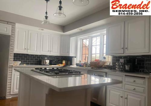 Braendel Services specializes in custom kitchen remodels. Explore the gallery to see what they've done in the past!